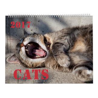 猫のカレンダー カレンダー