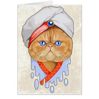 猫のサルタン カード