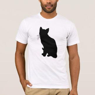 猫のシルエット Tシャツ