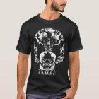 猫のスカルの死の子ネコの幽霊 Tシャツ