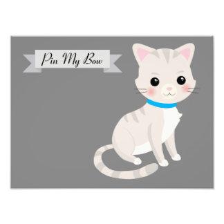 猫のテーマのパーティー用のゲーム フォトプリント