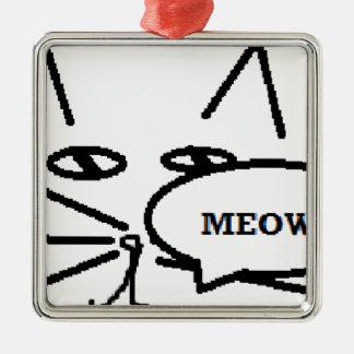 猫のテーマ項目 メタルオーナメント