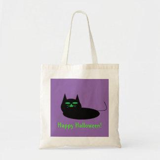 猫のハッピーハローウィン トートバッグ