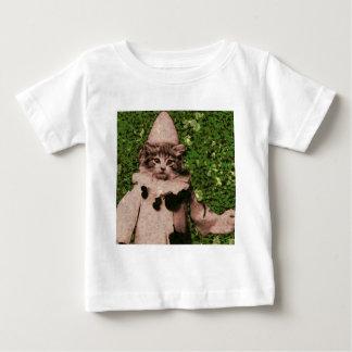 猫のピエロ ベビーTシャツ