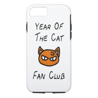 猫のファン・クラブの例の年 iPhone 7ケース