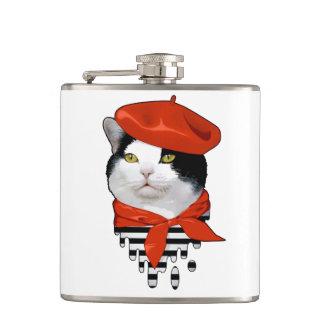 猫のフランス人 フラスク