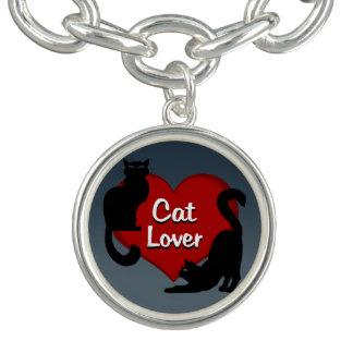 猫のブレスレットの猫好きのチャームブレスレットLe Chat Gift チャームブレスレット