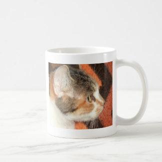 猫のプロフィール コーヒーマグカップ