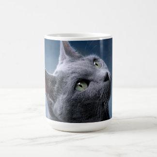 猫のポートレート コーヒーマグカップ