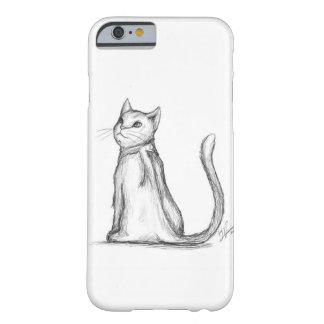 猫のポートレート BARELY THERE iPhone 6 ケース