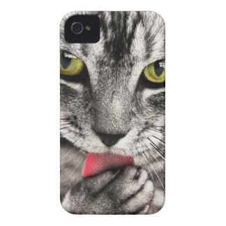 猫のポートレート Case-Mate iPhone 4 ケース