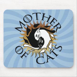 猫のマウスパッドの母 マウスパッド