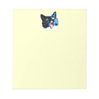 猫のメモ帳 ノートパッド