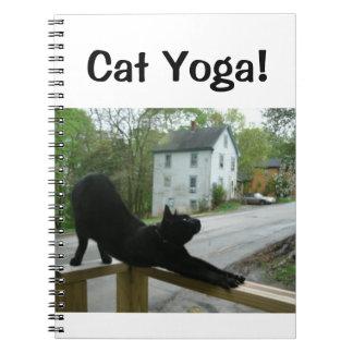 猫のヨガ! ノートブック