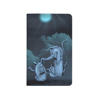 猫のロボットエイリアンの漫画のポケットジャーナル ポケットジャーナル
