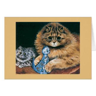 猫のヴィンテージカード カード