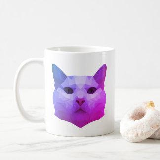 猫の低い多マグ コーヒーマグカップ