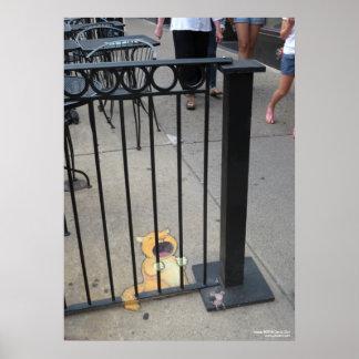 猫の囚人 ポスター