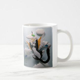 猫の天国のマグ コーヒーマグカップ