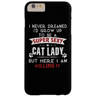 猫の女性 BARELY THERE iPhone 6 PLUS ケース