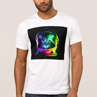 猫の宇宙飛行士-宇宙猫-おもしろいな猫 Tシャツ