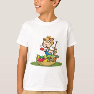 猫の庭師 Tシャツ