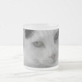 猫の思考 フロストグラスマグカップ