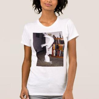 猫の救助のTシャツ Tシャツ