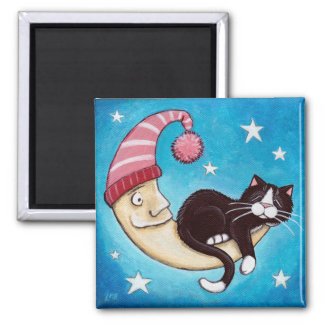 猫の昼寝の磁石のための安全な場所 マグネット