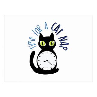 猫の昼寝 ポストカード