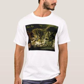 猫の昼寝、猫の昼寝 Tシャツ