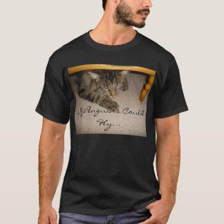 猫の昼寝 Tシャツ