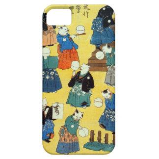 猫の曲芸師、Kuniyoshi、Ukiyo-e、猫の国芳の曲芸師 iPhone SE/5/5s ケース