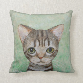 猫の枕かわいい虎猫猫の子ネコの装飾用クッション クッション
