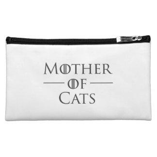 猫の母 コスメティックバッグ