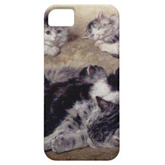 猫の研究 iPhone 5 カバー
