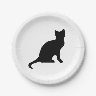 猫の紙皿 ペーパープレート