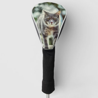 猫の絵画 ゴルフヘッドカバー