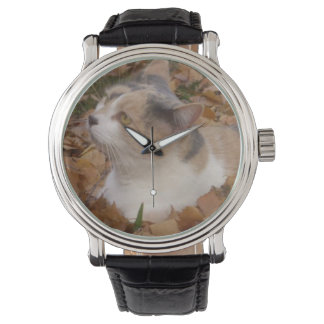 猫の腕時計 腕時計