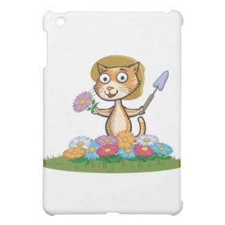 猫の花の庭師 iPad MINI CASE