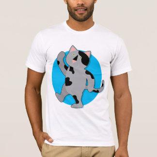猫の行進 Tシャツ
