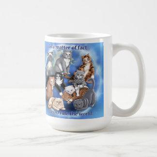 猫の規則のマグ コーヒーマグカップ