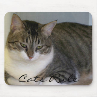 猫の規則 マウスパッド