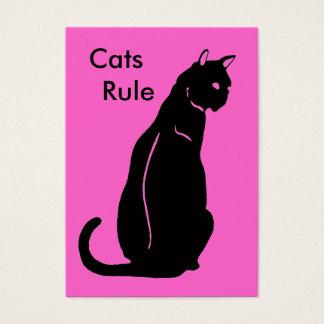 猫の規則 名刺