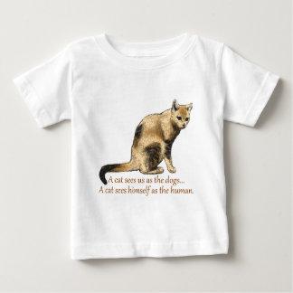 猫の認識 ベビーTシャツ
