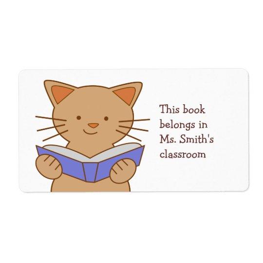 猫の読本 発送ラベル