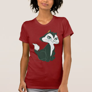 猫の足のモデル Tシャツ