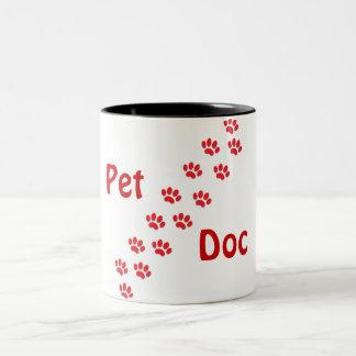 猫の足 ツートーンマグカップ