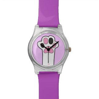 猫の足 腕時計