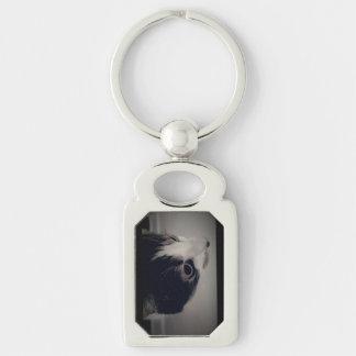 猫の金属Keychain キーホルダー